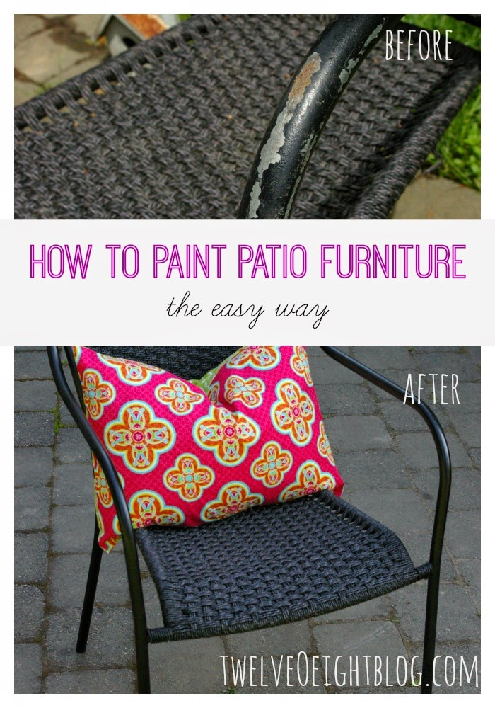 how to paint patio furniture, diy home decor, diy projects, home decor, summer decor, patio