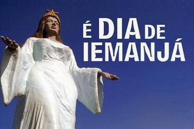 Dia de Iemanjá - 02 de fevereiro. Foto: Divulgação