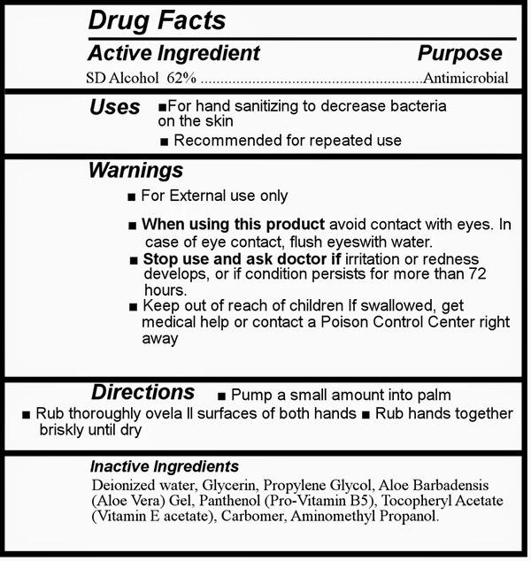 Otc Drug Labels Sample Drug Facts Label Hand