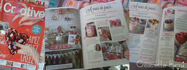 Créastelle Party dans Créative magazine