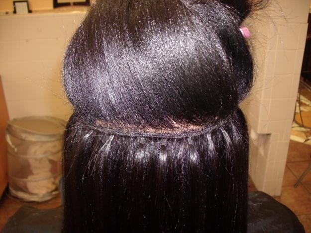 Braidless Sew in Hair Extensions