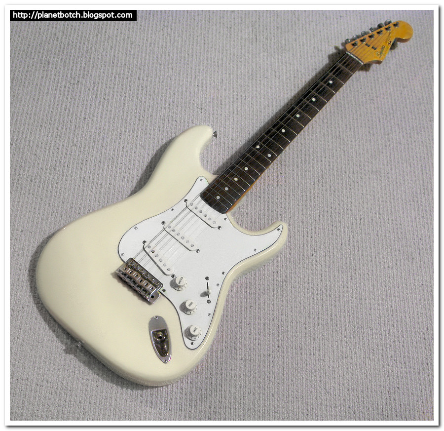 mid 1980s Squier Japan Stratocaster