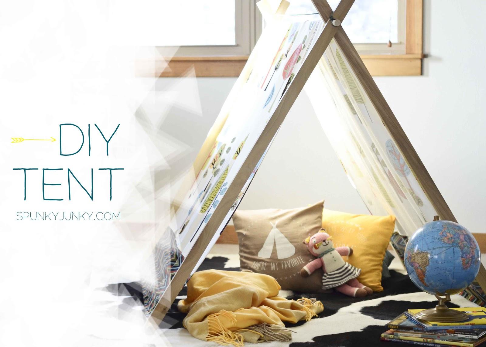 Diy Tent Spunky Junky Diy Tent