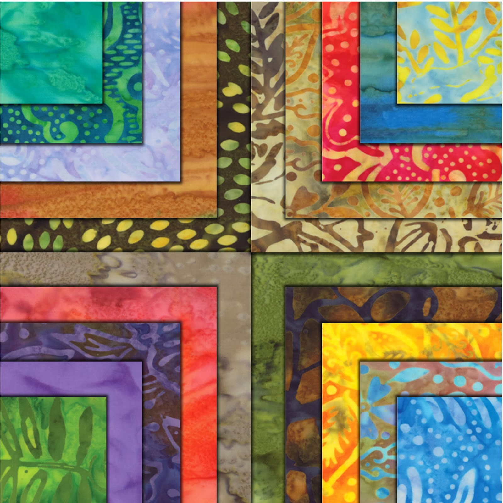 Moda SUN DRENCHED BATIKS Quilt Fabric by Moda Fabrics