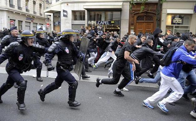 Disturbios en Francia en 2005