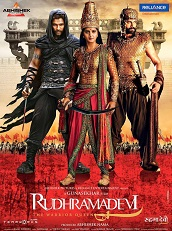 Watch Rudhramadevi (2015) DVDRip Hindi Full Movie Watch Online Free Download