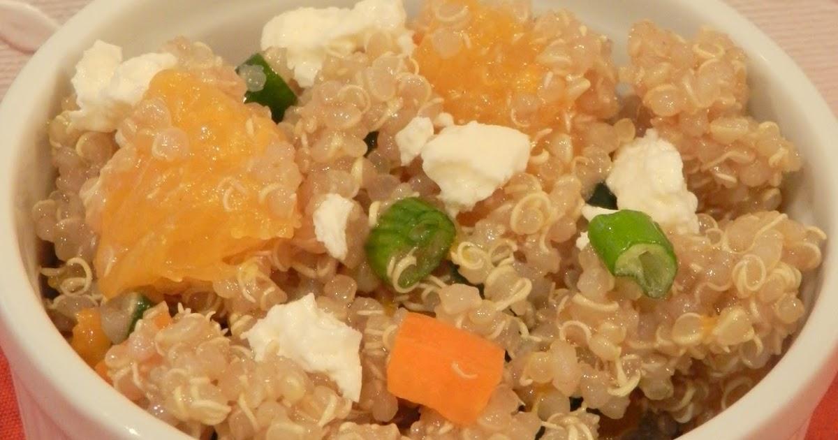 The Baking Bookworm: Mandarin Sesame Quinoa Salad