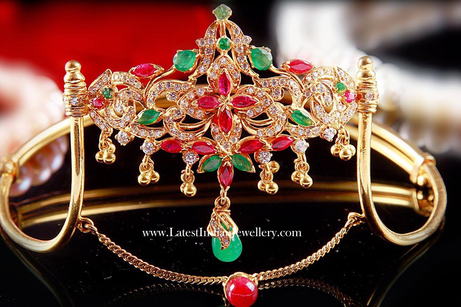 Unique Designer Gold Baju Bandh