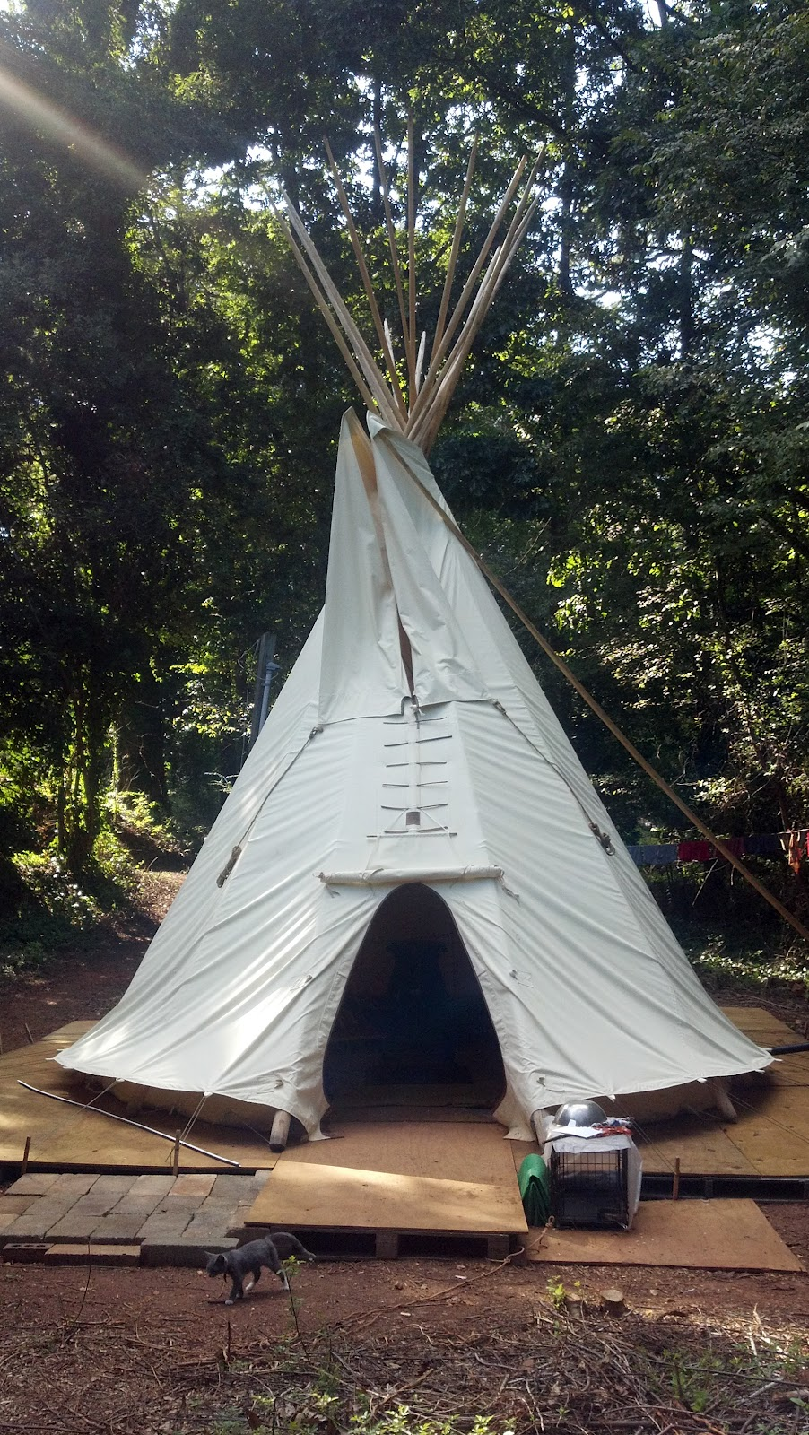 My Sioux Tipi House | Nemo's Travels