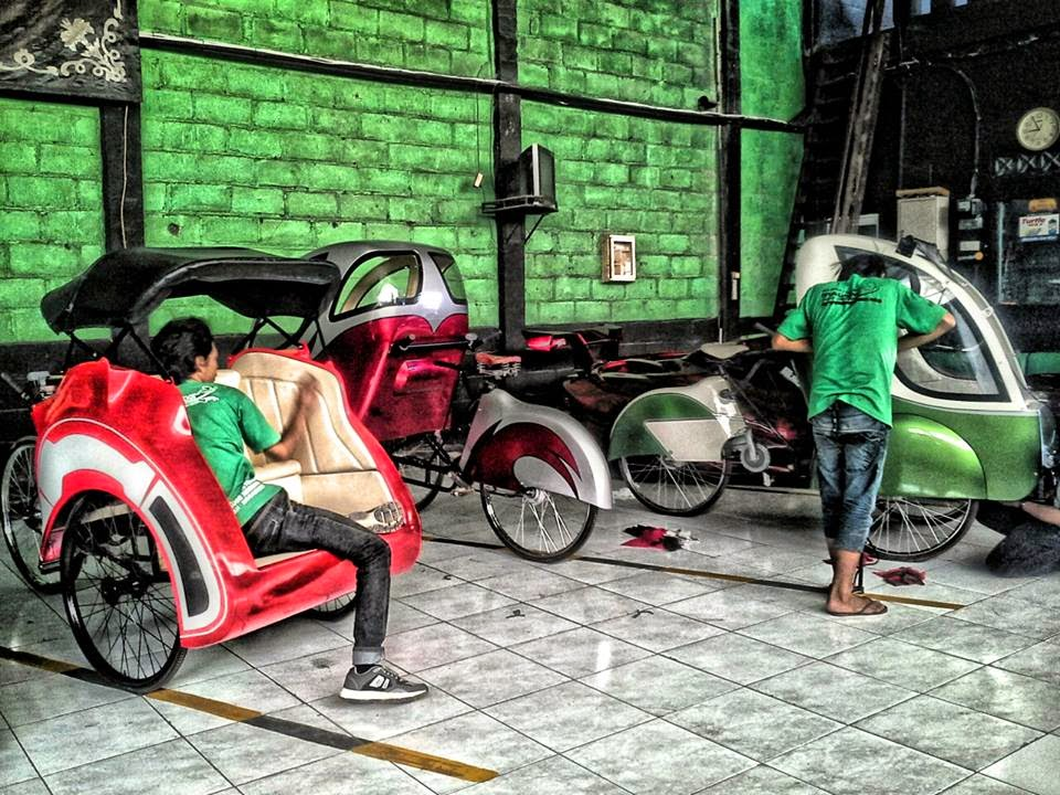pembuat becak motor listrik indonesia