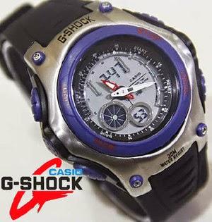 Jam Tangan G-Shock G-056 Black Blue