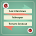 Liste des interviews faites par Tomate Joyeuse