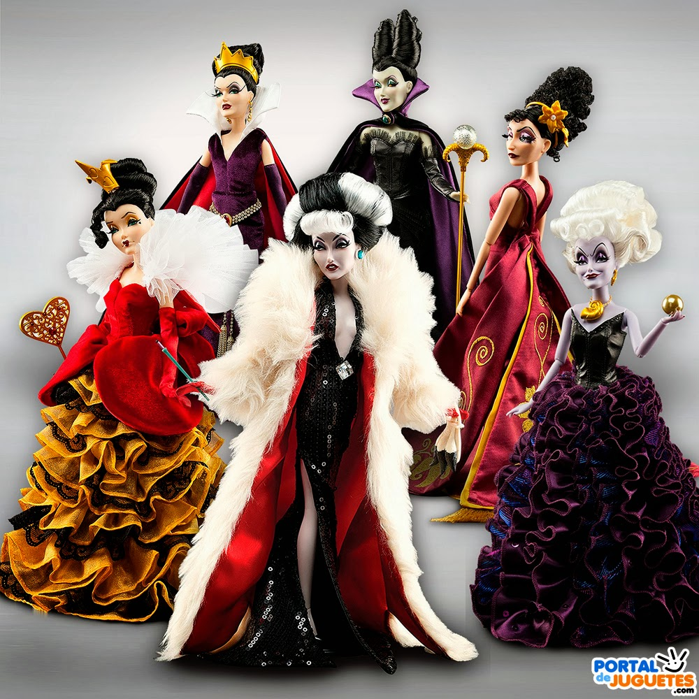 muñecas villanas disney