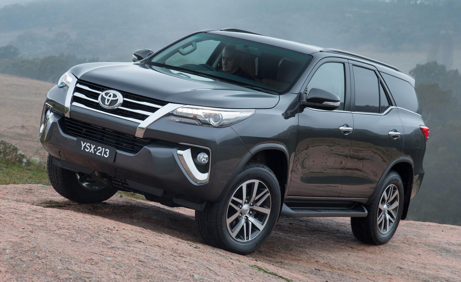 Toyota Apresenta Nova Fortuner Nossa Sw4 2016
