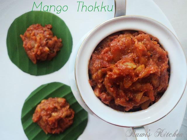 Mango Thokku ( Mango Pickle)