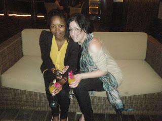Andisa Mesatywa & Chane Barker in #ZANZIBAR