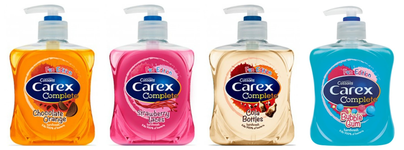Carex Fun Edition Handwash Bubble Gum Review on Hello Terri Lowe British Beauty Blog.