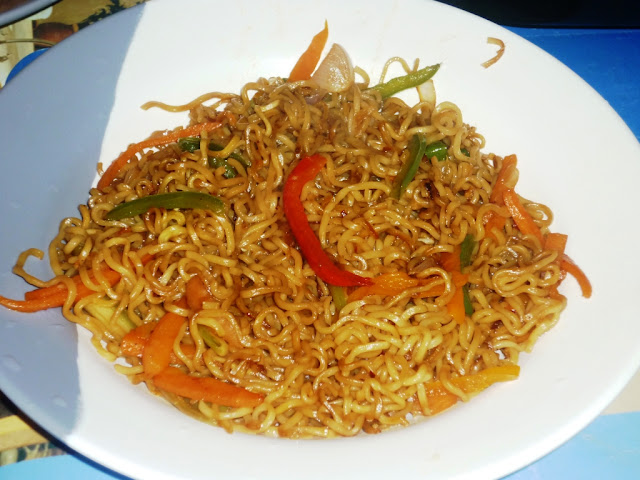 vegetable hakka noodles-Chinese recipe