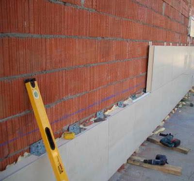 El maestro de obras xavier valderas hacer los revestimientos for Revestimientos para exteriores