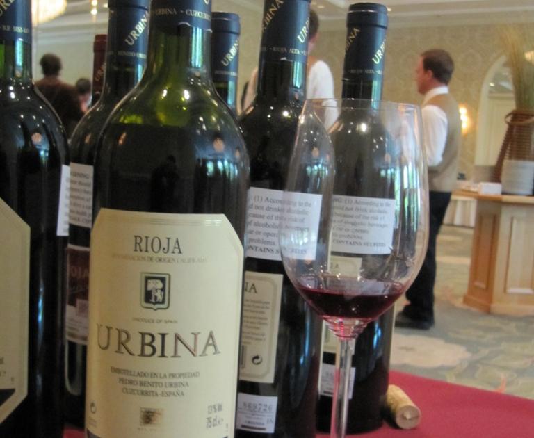 Urbina vinos blog salon professionnel international du for Salon du vin lyon