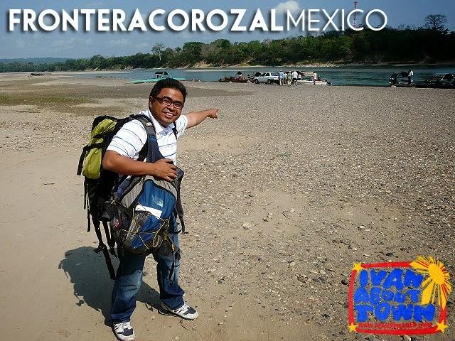 Rio Usamacinta, Frontera Corozal, Mexico-Guatemala Border