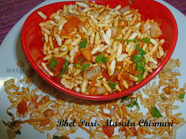 Bhel Puri or Masala Chirmuri