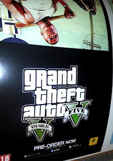 grand theft auto v promo display 1 Rumor: Grand Theft Auto V Releasing Spring 2013?