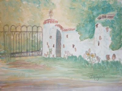 Holladay Garden Wall