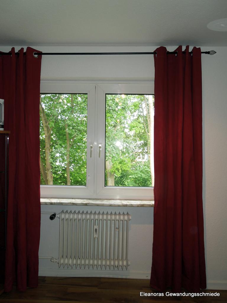 eleanoras gewandungsschmiede gardinen die erste. Black Bedroom Furniture Sets. Home Design Ideas