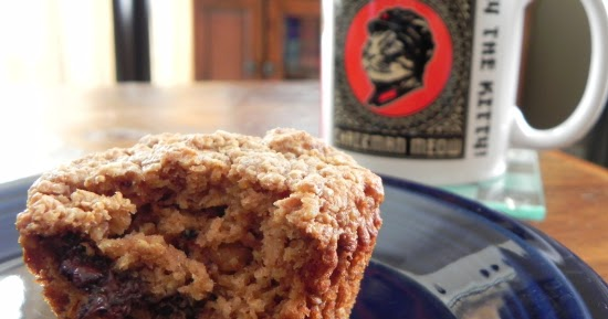... Maine Crow: Chocolate Chip Peanut Butter Walnut Oatmeal Muffins