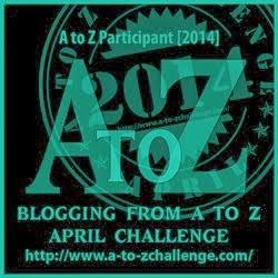 April A-Z Challenge 2014