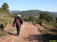 Avançant per l'esplanada del Turó del Casuc. Autor: Carlos Albacete