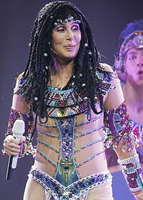 Cher performing in Ottawa, Canada