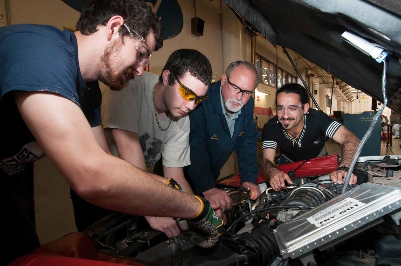 Auto tech school cost