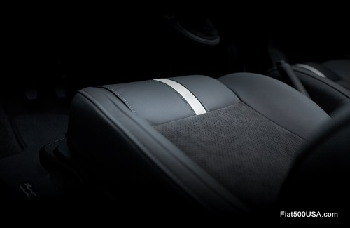 Fiat 500c GQ Edition seat cushion