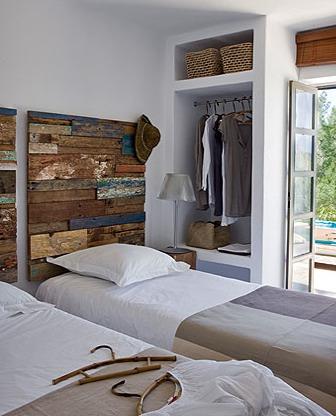 Eco art cabeceros reciclados - Ideas para cabezales de cama ...
