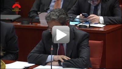 1era Intervenció Enric Millo compareixença Vicepresident Generalitat, Oriol Junqueras
