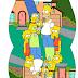 Los Simpson: Caja Almohada para Imprimir Gratis.