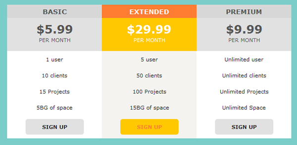 How to Create a Simple and Stylish Pricing Table using CSS