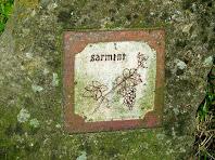 """Rajola del jardí """"Brins d'Espígol"""""""
