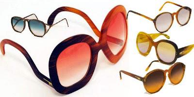 kacamata terbuat dari rambut