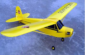 J-3 Cub Grasshopper rc plane Image