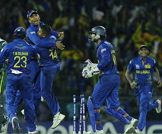 Sri Lanka beat Pakistan by 16 runs