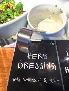 Vegan Herb Dressing from Tibits London Veega