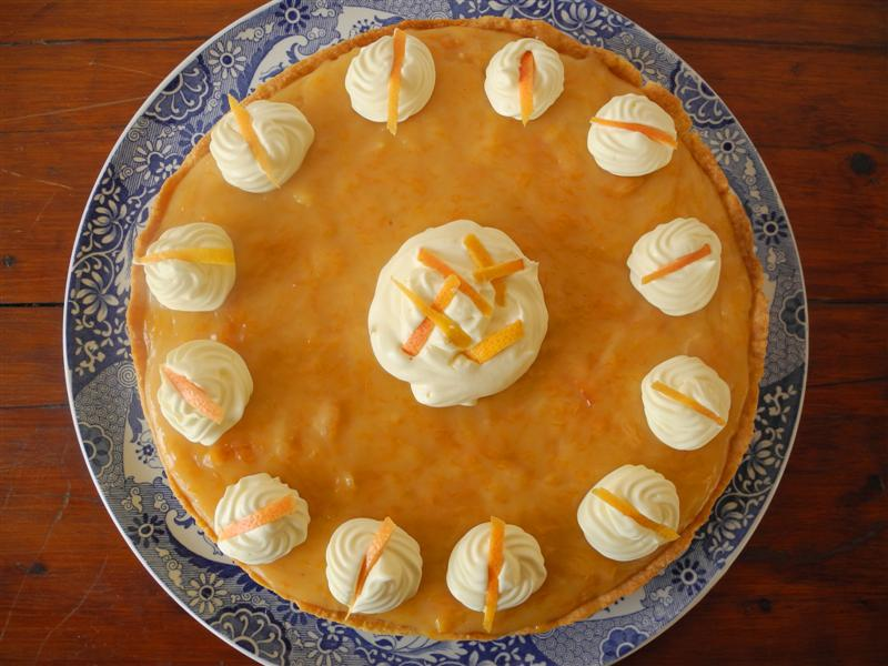 Recetas de Marlis: Tarta de pomelo (Grapefruit pie)