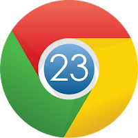 Google chrome 23