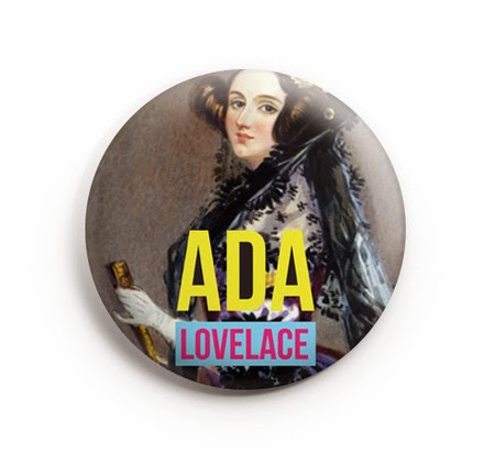 Botton Ada Lovelace - Heroicas