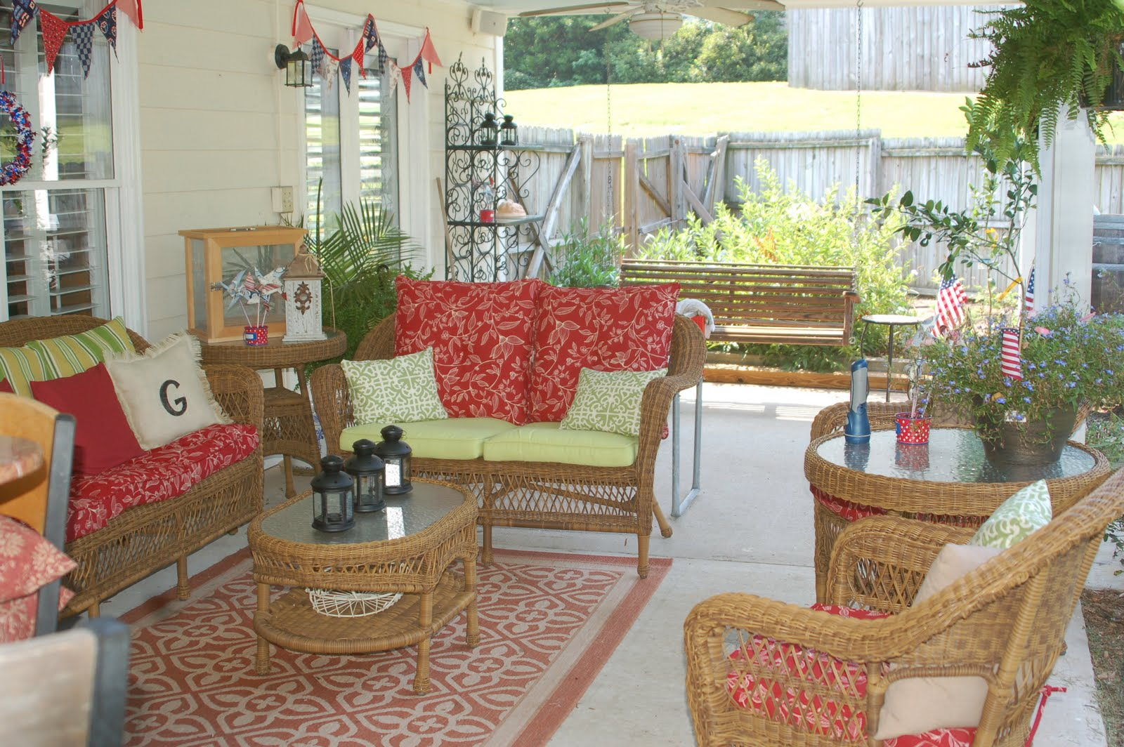 Love Being In My Southern Kitchen Porch Make Over Reveal