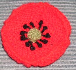 Knitting Galore: Knit A Poppy For Remembrance