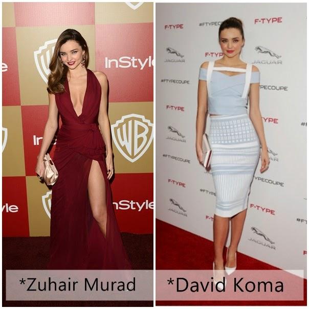 Miranda Kerr Zuhair Murad David Koma